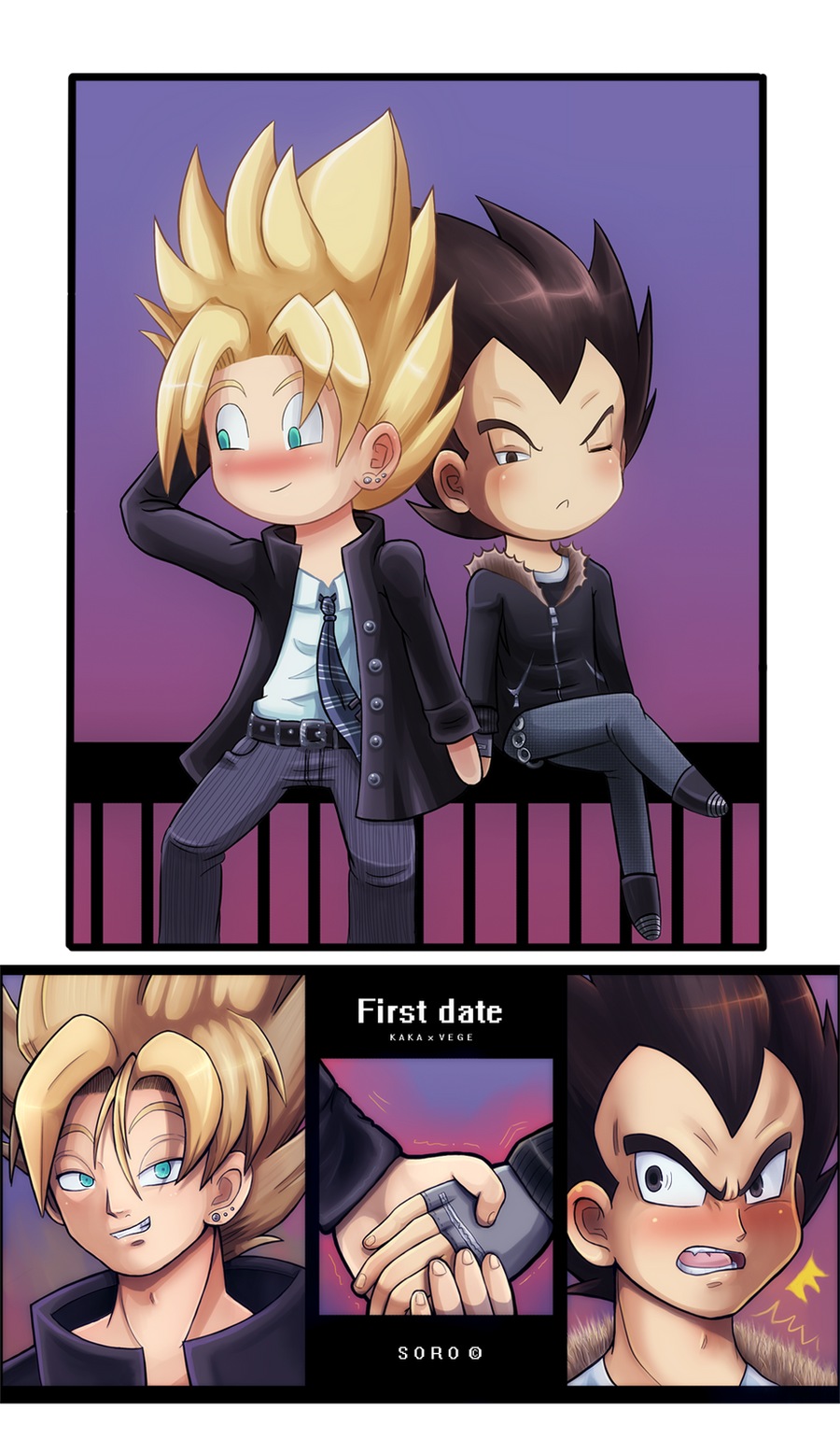 Anime First Date First Date by Mosaicvirus