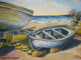 painting boat's ..