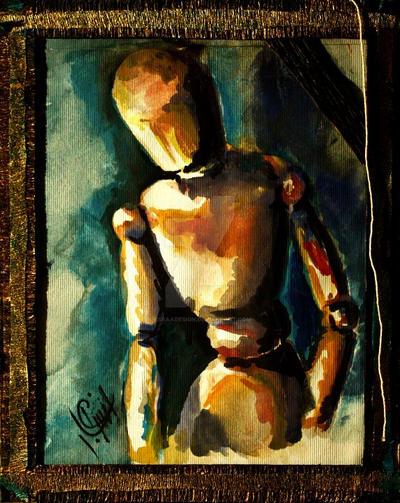 Wooden Puppet ..