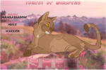 Mambashadow | Cis-male | Windclan Warrior