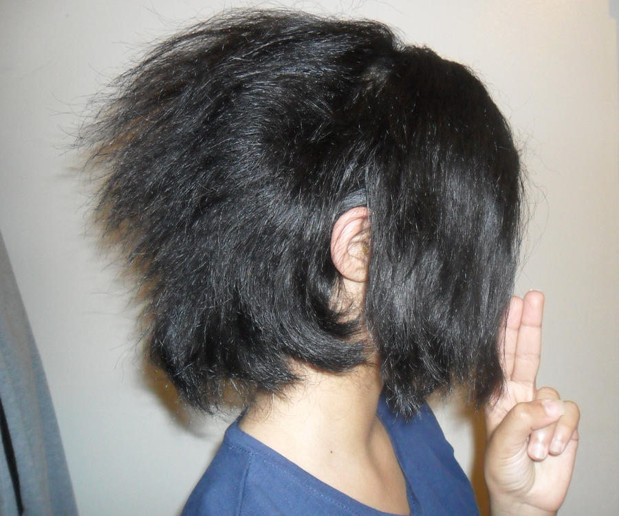 how to do an invisible part weave : Sasuke+Hair+Cut Sasukes Cosplay -Hairstyle by UchihaxD on DeviantArt