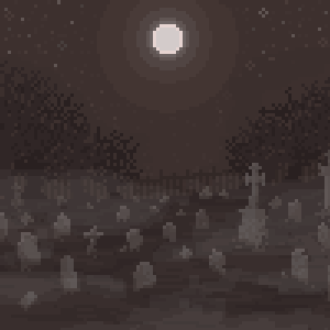 100x100 graveyard by SpiritSiphon