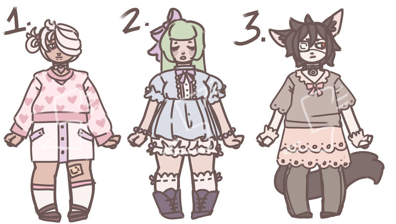 Sleepy Adopts! 150 points 2/3 OPEN by SpiritSiphon