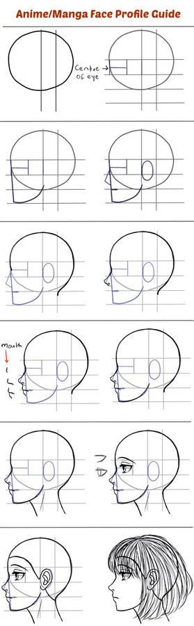 Draw-anime-face-profile