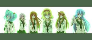 Touhou 3 boss maidens