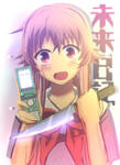 Yandere-stalker Yuno-san