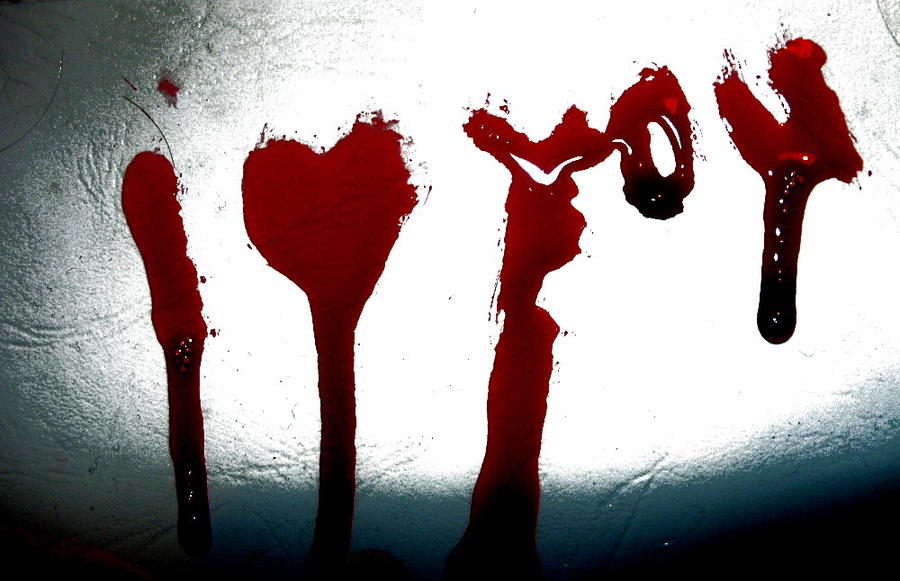 I Love You Wallpaper In Blood : In Blood I Wrote