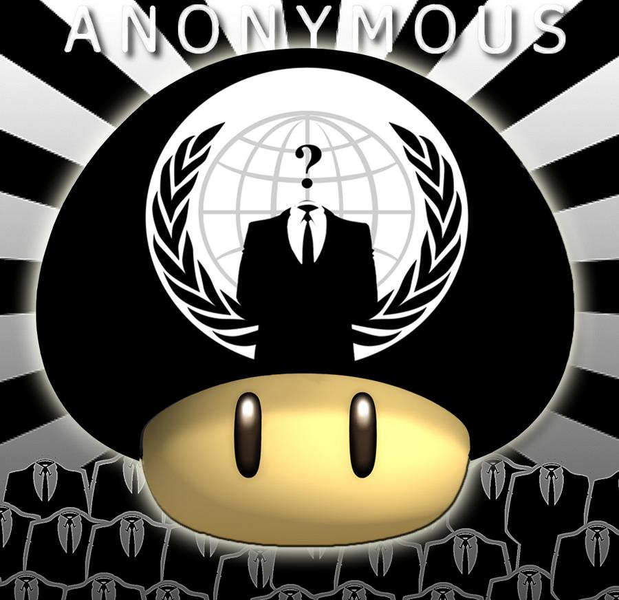 Champignon Mario Anonymous by antoine9876 on DeviantArt