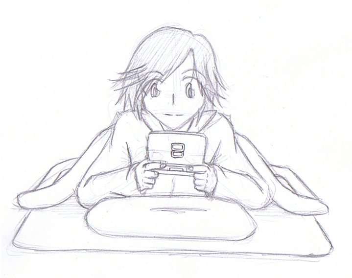 Ninomiya Gaming Sketch by shadowpheonix64