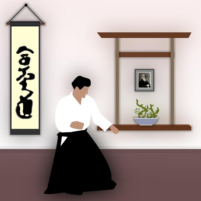 Aikido Dojo by ClumsyBoy