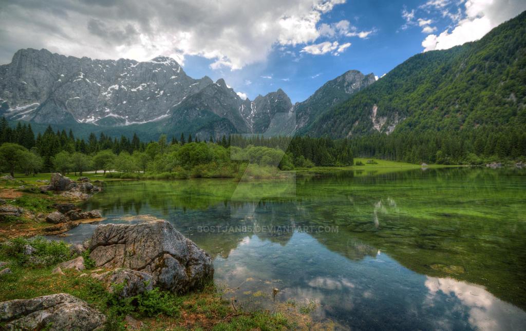 Lago di Fusine by Bostjan85