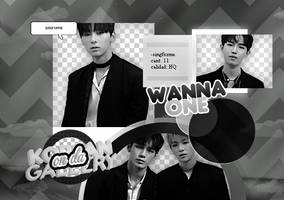 WANNA ONE | PACK PNG by KoreanGallery