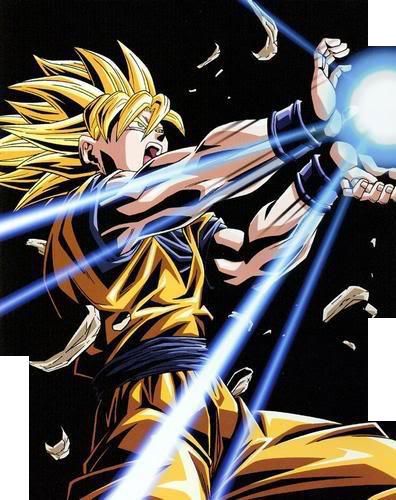 [ Render ] Super Saiyan Goku Kamehameha by FMADBZFans on ...