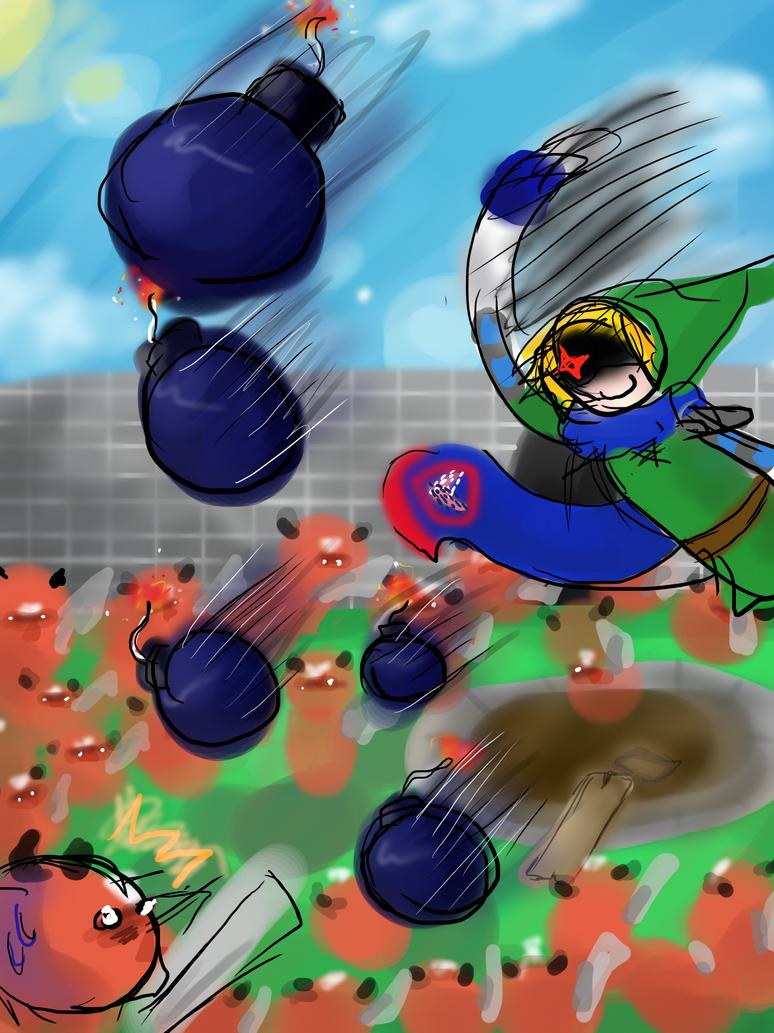 Hyrule Warriors! by FMADBZFans