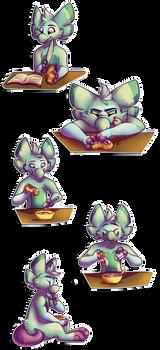 WP47: Prickly Paw Prep by CherryTrabbit