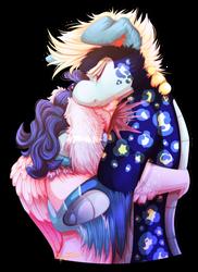 Overdue Hug by CherryTrabbit