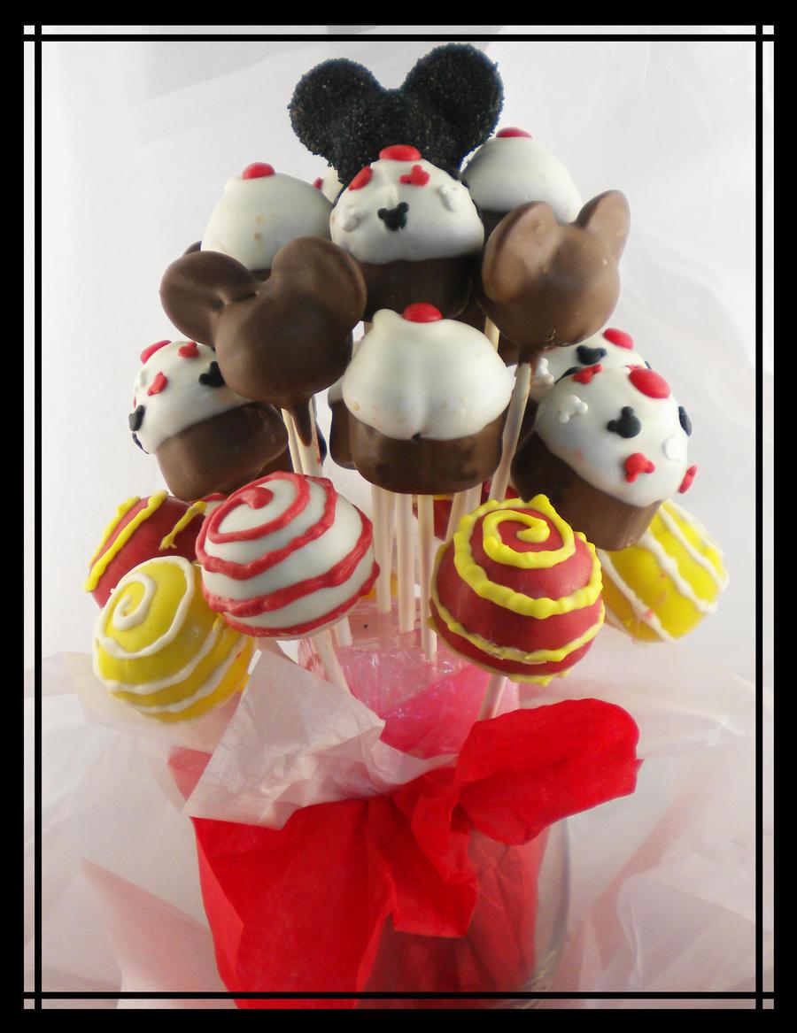 Mickey Mouse Cake Pop Buy