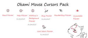Okami Computer Cursor Pack