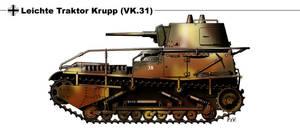 Leichte Traktor Krupp VK 31