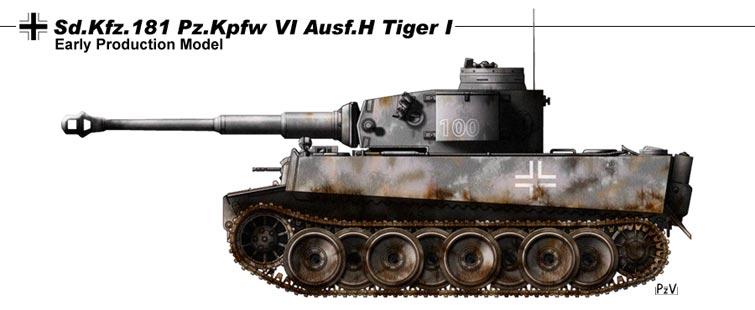 Sd Kfz 181 Pz Kpfw Vi Ausf H By Nicksikh On Deviantart