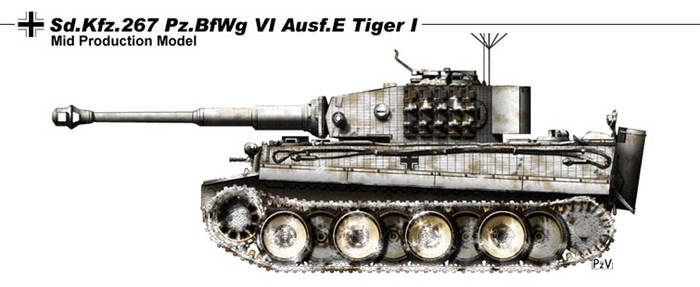 Sd Kfz 267 Pz BfWg Vi Ausf E by nicksikh