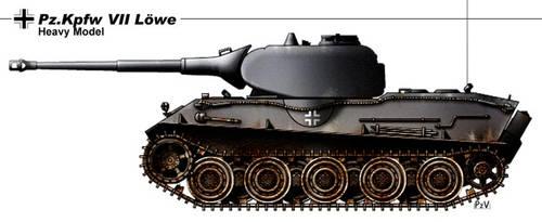 Pz Kpfe VII Lowe by nicksikh