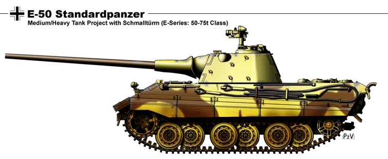 E 50 Standardpanzer by nicksikh on DeviantArt
