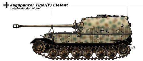 Jagdpanzer Tiger P Elefant by nicksikh