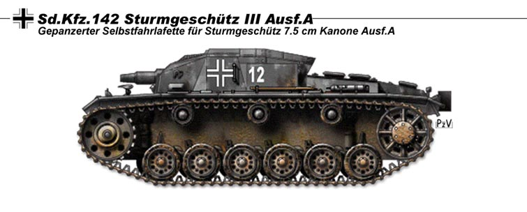 StuG III Ausf A by nicksikh