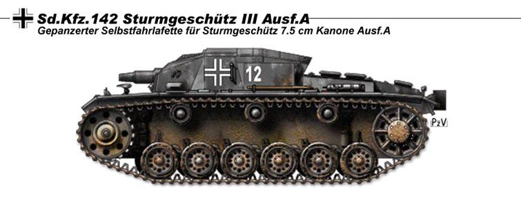 StuG III Ausf A by nicksikh