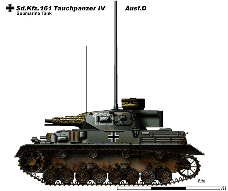 Tauchpanzer IV Ausf.D by nicksikh