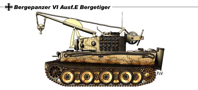 Bergepanzer VI AusfE Bergetigr by nicksikh