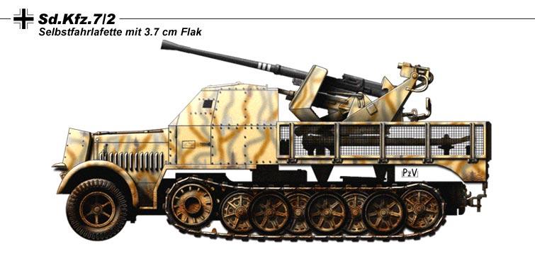 Sd.Kfz.7.2 by nicksikh