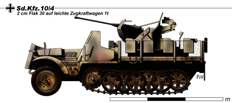 Sd.Kfz.10.4 by nicksikh on Dev...