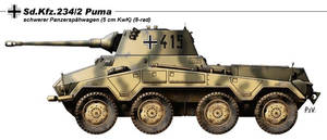 Sd.Kfz.234.2 Puma