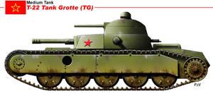 T-22 Tank Grotte TG by nicksikh