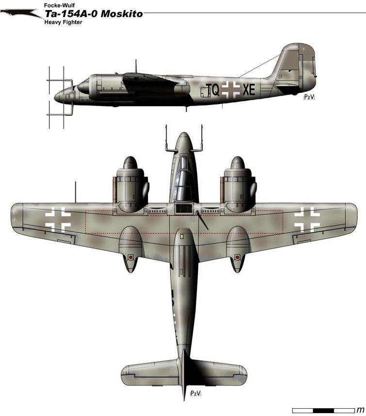 Ta-154A-0 Moskito By Nicksikh On DeviantArt