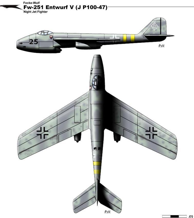 Fw-251 Enwurf V by nicksikh