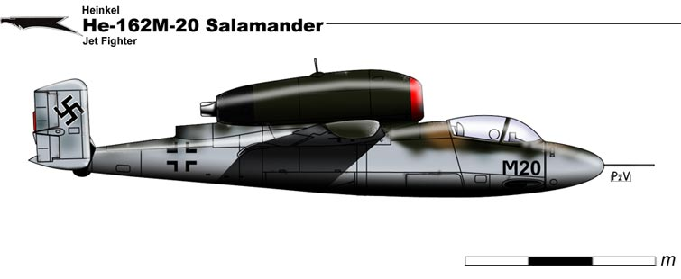 He-162M-20 Salamander by nicksikh