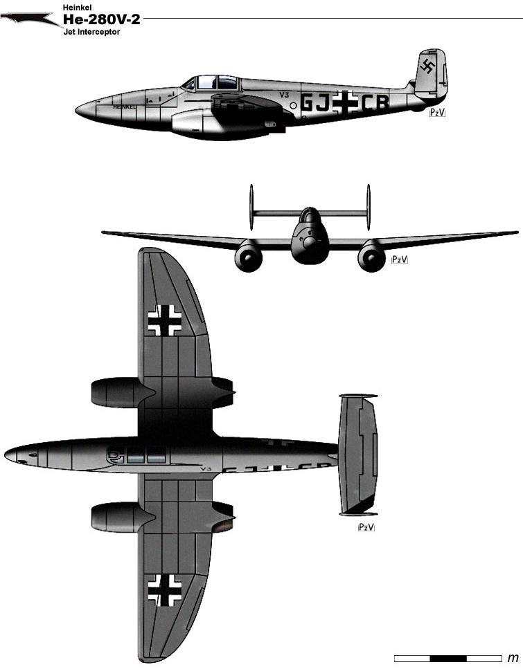He-280V-2 by nicksikh
