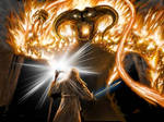 Gandalf vs the Balrog