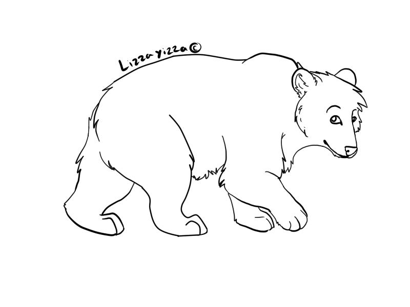 free bear lineart by xxlucretiathefurryxx on deviantart rh xxlucretiathefurryxx deviantart com teddy bear line art teddy bear line art