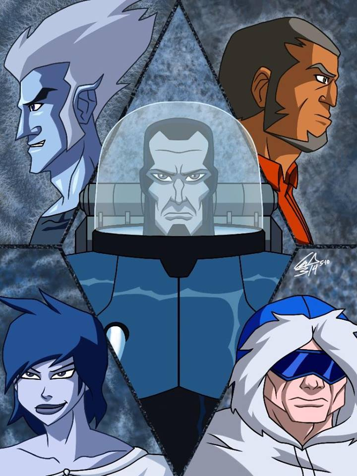 Young Justice Freeze Team by AndyManley3 on DeviantArt