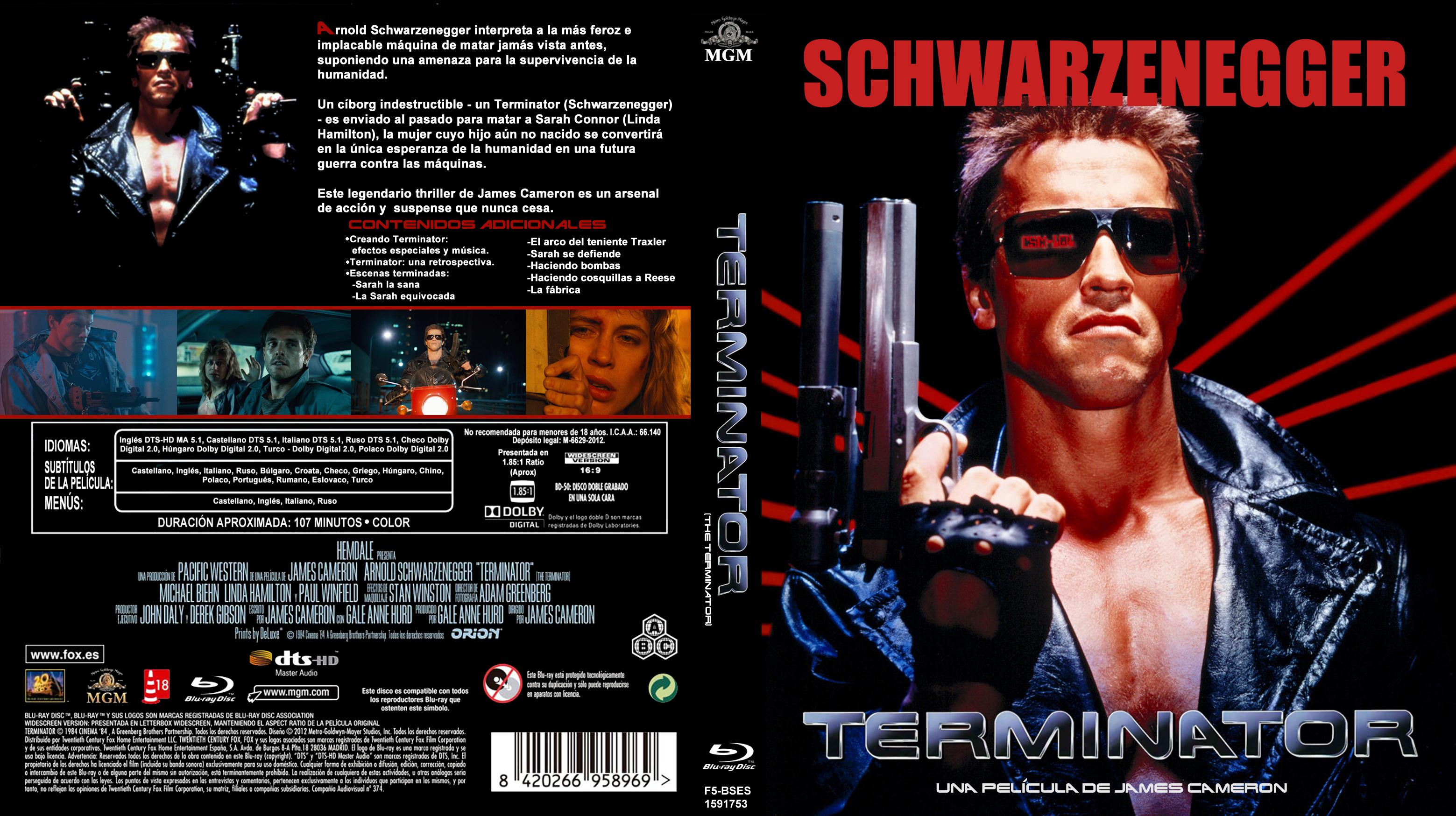 Amazon.com: Terminator - 1 To 4 Box Set [DVD]: Movies & TV