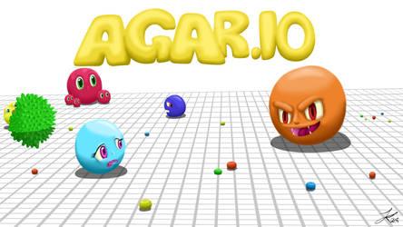 Agar.io (Wallpaper and small tutorial) by JKJokunen