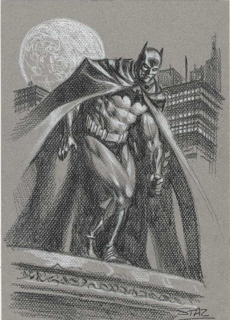 Batman-sketch3 by StazJohnson