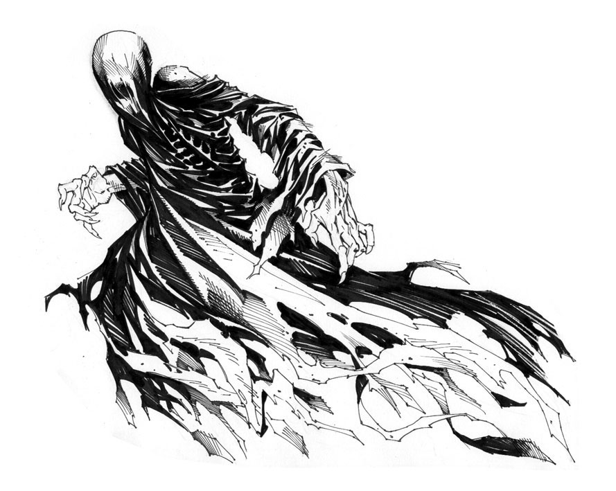 Dementor by stazjohnson on deviantart for Dementor coloring pages