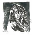 Conan inktober sketch