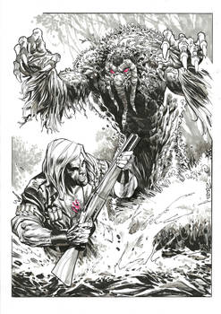 Ulysses Bloodstone and Man-Thing