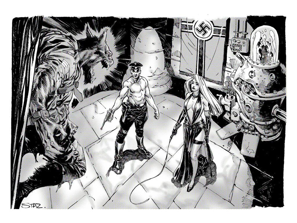 Werewolf v Nazis by StazJohnson